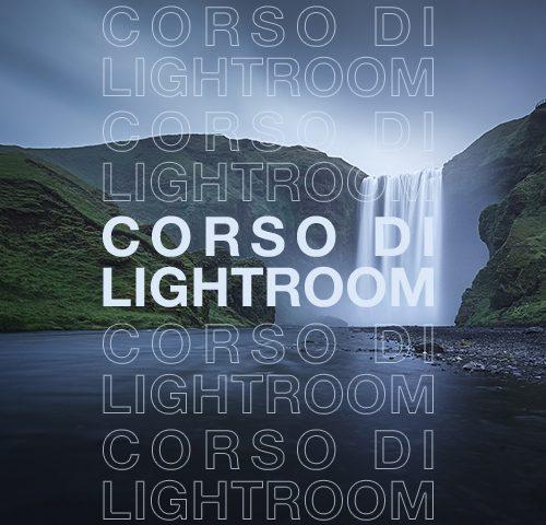 Corso di Lightroom 2019